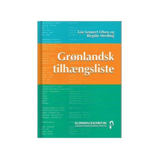 Grønlandsk tilhængsliste
