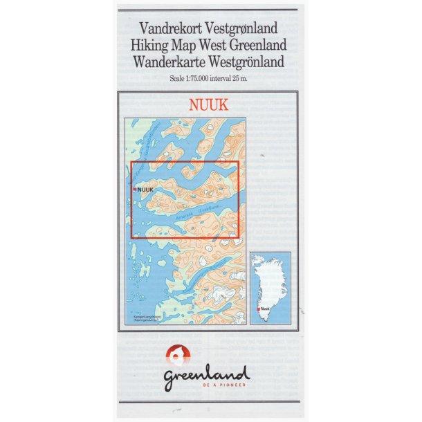 Vandrekort Nuuk
