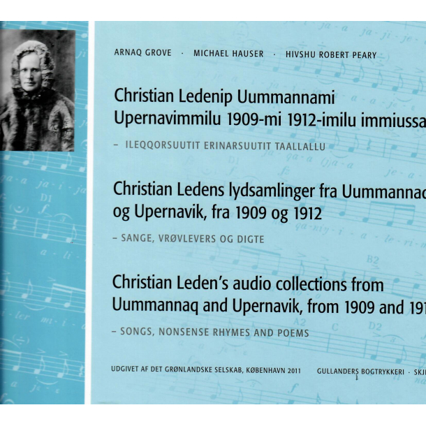 Christian Ledenip Uummannami Upernavimmilu 1909-mi 1912-imilu immiussai